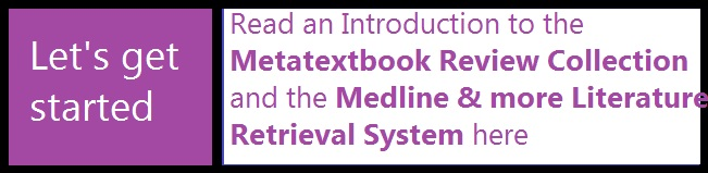 Learn how to find free medical review articles form the Metatextbook collections and how to retrieve medical literature from pubmed and the major medical publishers like wiley-blackwell, springer, elsevier, highwire-hosted, lww, informa healthcare, mary ann liebert online, j-stage-hosted, doaj and many more NAME=